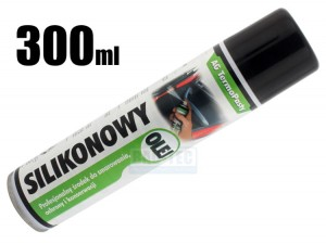 Olej silikonowy 300ml spray