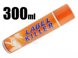 LABEL KILLER - spray 300ml do usuwania naklejek, kleju i etykiet